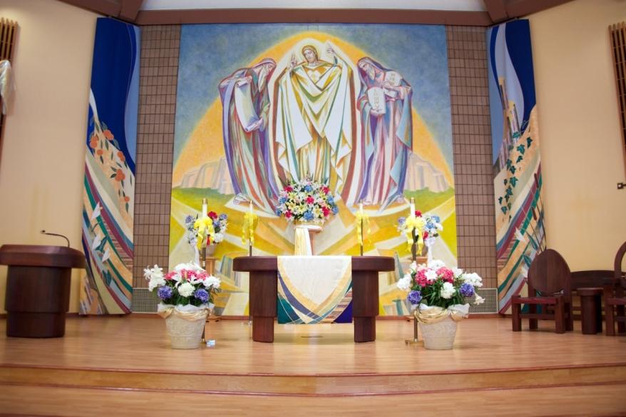 Inside of Transfiguration Church